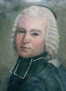 The famous portrait of Lacaille painted by Anne-Louise Le Jeuneux, 1762